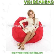 4FT medium round memory foam beanbag chair adult contemporary
