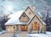 popular prefabrciated wooden home W6828