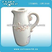 ceramic milk and coffee jug