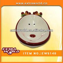 Snowman design ceramic bowl Christmas Gift