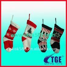 2011 popular various designs Christmas stocking