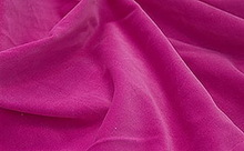 100% cotton velveteen for apparel or bedding