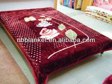 2014 new designs Muslim Acrylic blanket