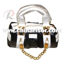2012 pu women fashion handbag