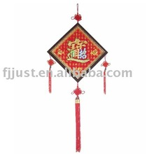 chinese braided knotted decoration
