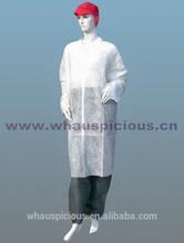 disposable non woven laboratory gown