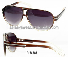 2012 hot Sunglasses with custom logo printed lens Plastic Star Print Mirrored Lens Sunglasses