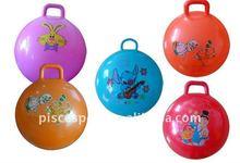Children hopper ball with handle