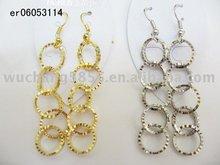circle dangle earring