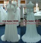 lace and chiffon wedding dresses china 2013