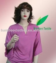 women's knit 3/4 sleeved tunic
