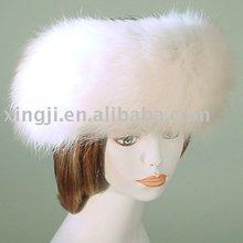 Natural Fox Fur Headband