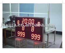 Led portable electronic basketball scoreboard