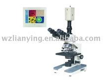 Lab binocular stereoscopic electric microscope