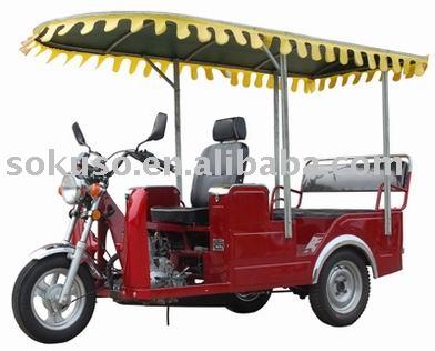 100cc 110cc motorized Tourist Passenger three wheel motorcycle