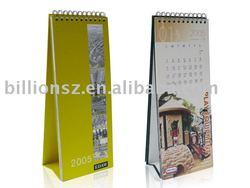 Paper desk calendar