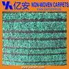 Customized manufacturer of OEM ribbed carpet, striped carpet