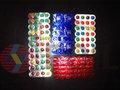 farmacéutico de embalaje de la ampolla láminadealuminio insignia de la impresión