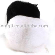 wholesale fox fur hand warmer muff