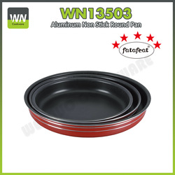 Aluminum round cake mould pan w/ non-stick coating