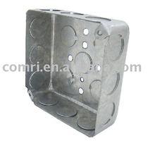 "4"" junction box / metal box"