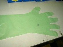 long 90cm plastic glove