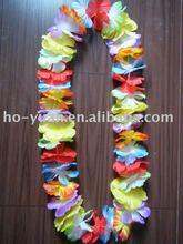 artificial Hawaii flower lei