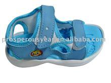 2012 fashion design kid's eva beach sandal