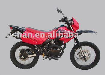 200cc dirt bike electric start motor, Single-cylinder, 4-stroke