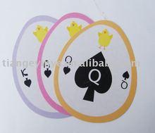 Ellipse Poker Card