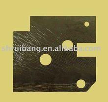 thin sticky rubber sheet