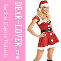 venta al por mayor sexy blanco invierno disfraces de navidad