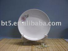 Factory direct sale ceramic white dessert plate