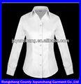 feminino uniforme formal camisa das mulheres