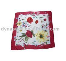 Top Fashion High Quality Pure Silk Scarf Customized