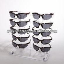 plexiglass custom eyewear floor display stand