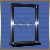 INTERIOR STAINLESS STEEL FRAME TRANSACTION WINDOW