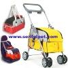 Durable Pet Stroller Dog Trolley