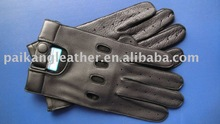 Men's leather cheap bicycle gloves for driving