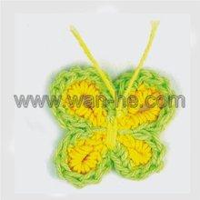 crochet wool patch,hand crochet flower,apparel crochet flower