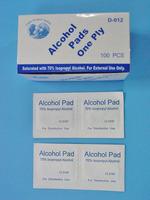 alcohol swabs, 70% isopropyl