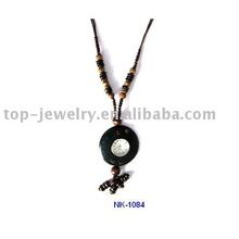 Long chain and Watch Pendant Necklace(NK-1804)