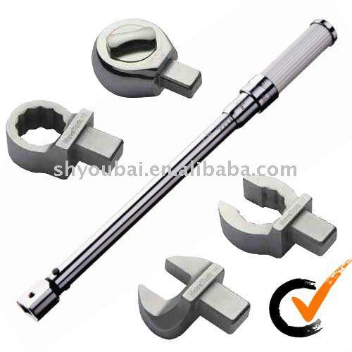 adaptador intercambiables llave de torque