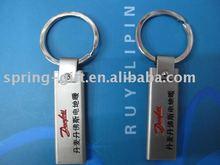 zinc alloy engrave logo metal key chain