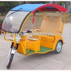 cheap Power model Hot sale three wheeler tricycle auto rickshaw QQ model TEB-02