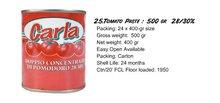 Pâte de tomate dans 400g peut 28/30% carla marque