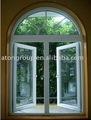 pvc ventana de arco