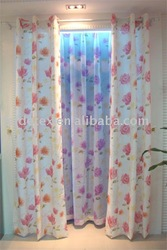 finished curtain