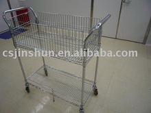Industry prevent static cart,kitchen shelving