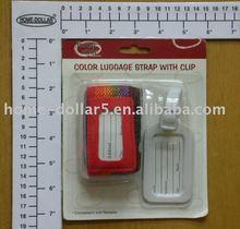 1pc luggage strap/1pc name tag